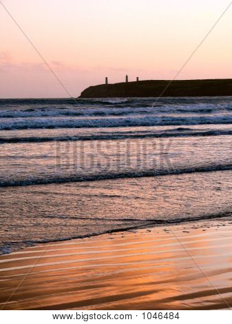 Sunset At Tramore