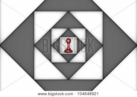 Claustrophobic (chess Metaphor)