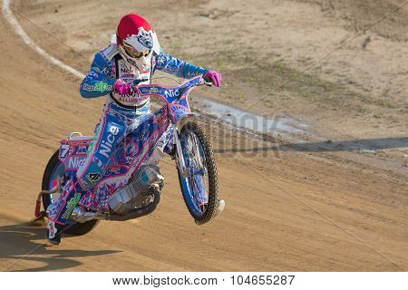 Racer Gregory Laguta