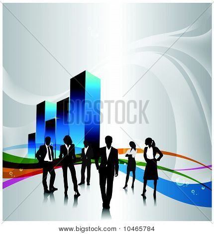 concetto di business. Vector