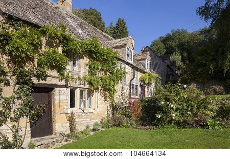 Cotswold Cottages, Snowshill, Worcestershire, England