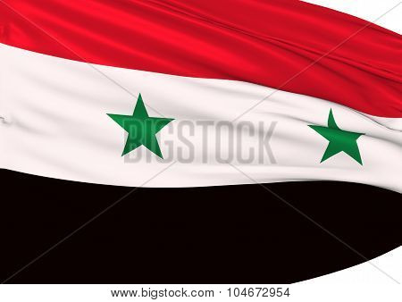 Image Of A Flag Of Syria