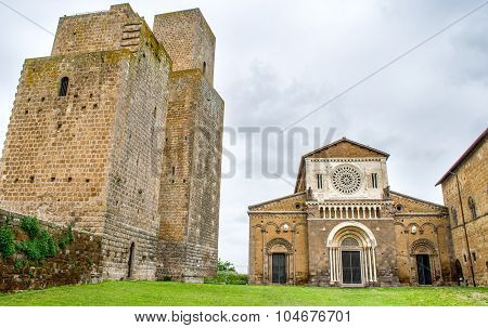 Tuscania Church Towers - Viterbo - Travel Italy