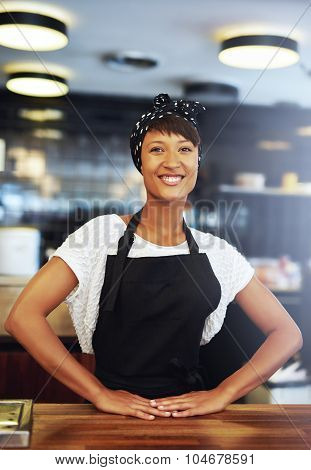 Confident Successful Young Small Business Owner