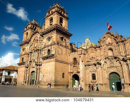 Iglesia La Compania de Jesus in Cusco