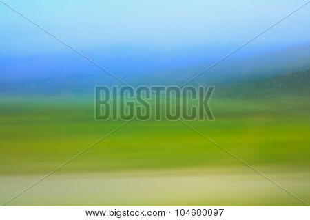 Colorful bright natural background blurred