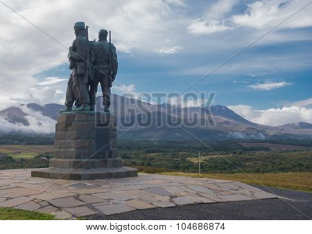 Commando Memorial in Spean Bridge Scotland