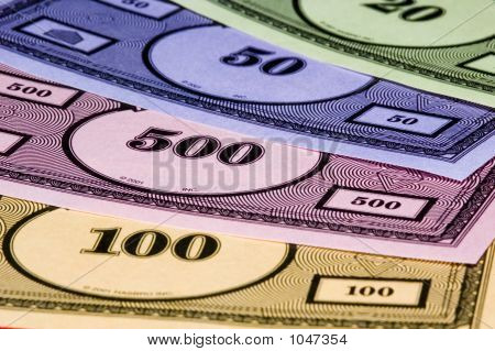 Fake Monopoly Money Texture
