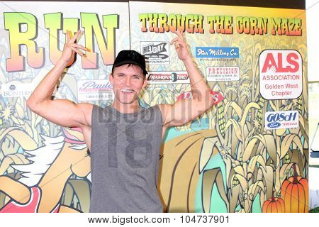 LOS ANGELES - OCT 9:  Kyle Haman at the Celebrities Salute the Military at Corn Maze at the Big Horse Feed and Mercantile on October 9, 2015 in Temecula, CA