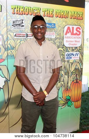 LOS ANGELES - OCT 9:  Matthieu Jean-Pierre at the Celebrities Salute the Military at Corn Maze at the Big Horse Feed and Mercantile on October 9, 2015 in Temecula, CA