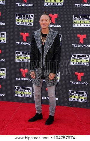 LOS ANGELES - OCT 8:  BB Bronx at the Latin American Music Awards at the Dolby Theater on October 8, 2015 in Los Angeles, CA