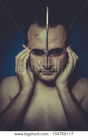 hallucination, concept of mental disorder, schizophrenia and depression