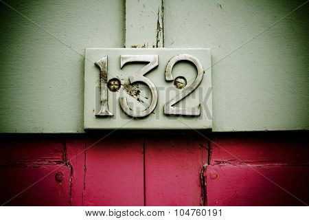 132 sign