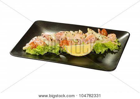 Saute Shrimps