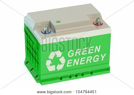 Recycle Battery Car