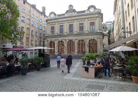 Temple du Change in Vieux Lyon