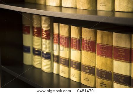 Old Legal Books Spanish Law Reports Library Spain