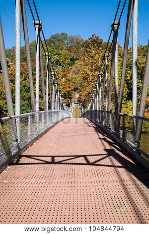 Popolopen Creek Suspension Footbridge