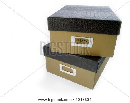 Stacked Photo Boxes