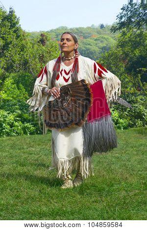 Proud Native American Female