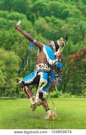 Indigenous Dancer Man