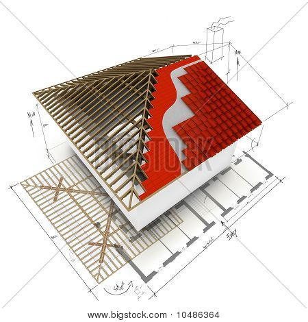 House Roof  3D Design