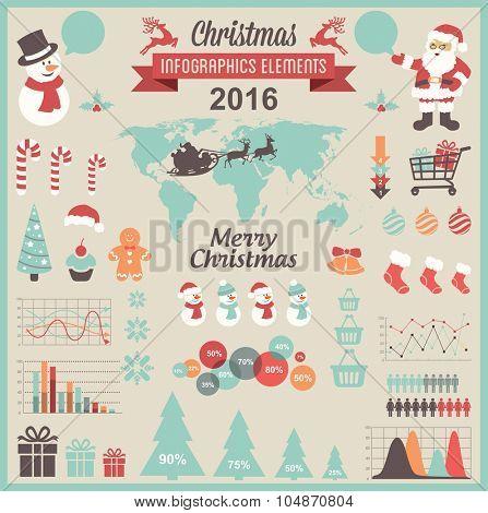 Christmas Infographic Set