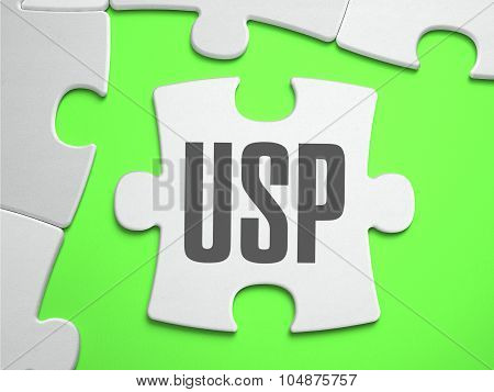 USP - Jigsaw Puzzle with Missing Pieces.