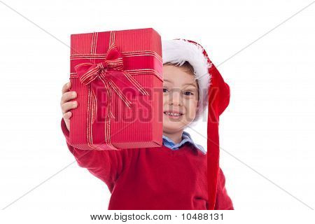 Offering Christmas Present