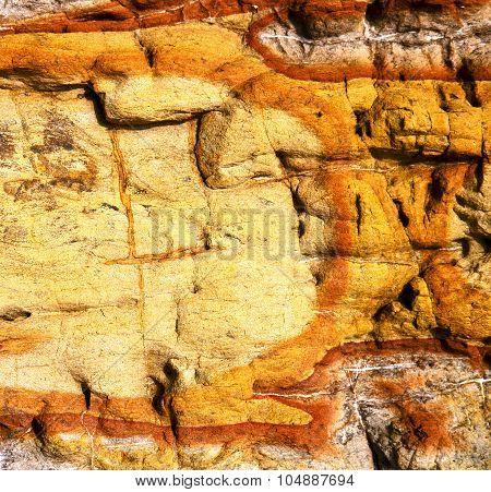 Texture Rock Abstract Lanzarote