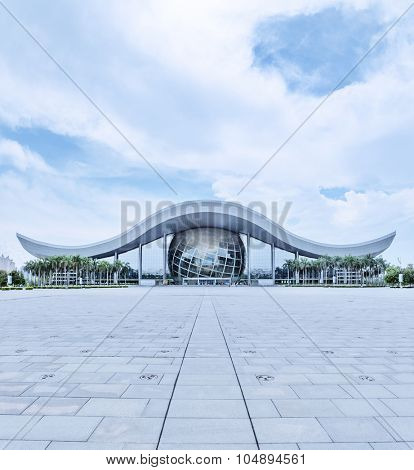 GUANGZHOU, CHINA -May 21: Guangdong Science Center on May 21, 2015 in Guangzhou. This is Asia's largest base for science education, International science and technology exchange platform