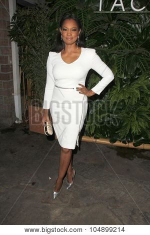 LOS ANGELES - OCT 6:  Garcelle Beauvais at the Club Tacori Riviera at the Roosevelt at the Roosevelt Hotel on October 6, 2015 in Los Angeles, CA
