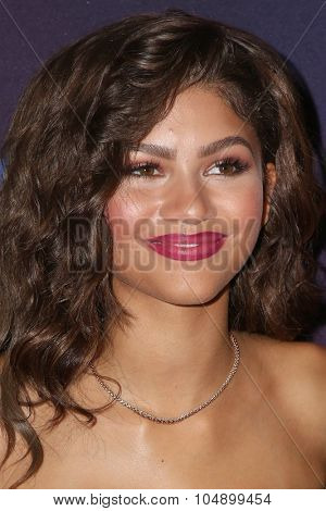 LOS ANGELES - SEP 26:  Zendaya Coleman at the Barbie Rock 'N Royals Concert Experience  at the Hollywood Palladium on September 26, 2015 in Los Angeles, CA
