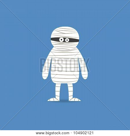 Cute cartoon mummy