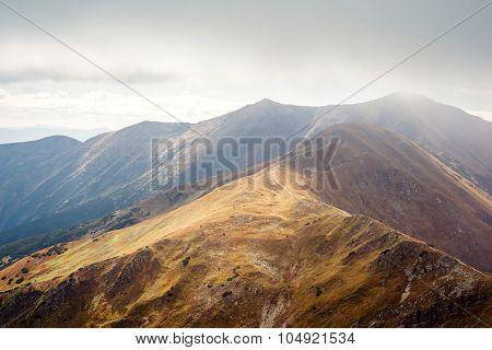 Placlive peak at Tatras
