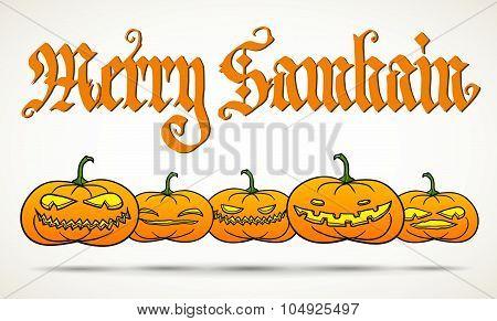 Merry Samhain Greeting Card