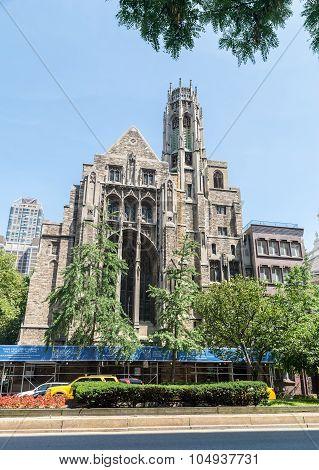 Central Presbyterian Church in New York