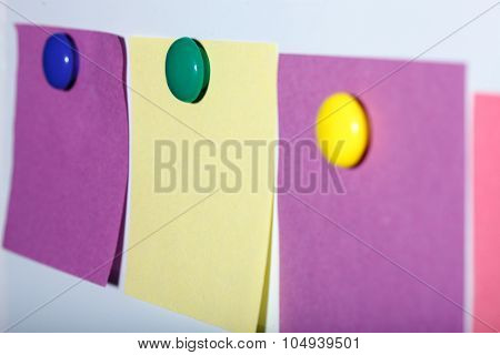 Colorful Paper Sheets