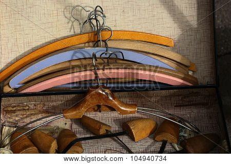Vintage Clothing Hangers