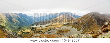 Ostry Rohac and Placlive peaks at Tatras