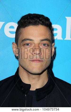 LOS ANGELES - AUG 12:  Rami Malek at the NBCUniversal 2015 TCA Summer Press Tour at the Beverly Hilton Hotel on August 12, 2015 in Beverly Hills, CA