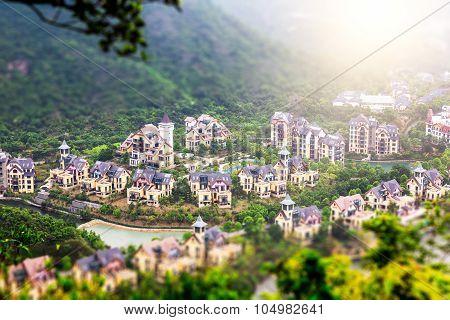 China Shenzhen Overseas Chinese Town Of Mountain Villas