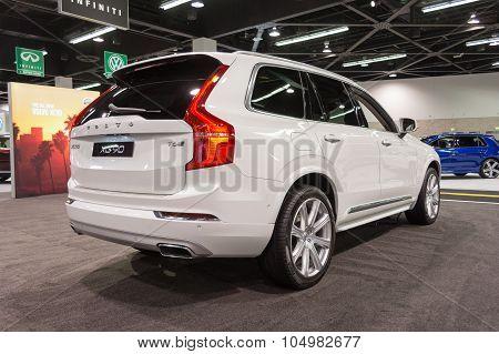 Volvo Xc 90 On Display.