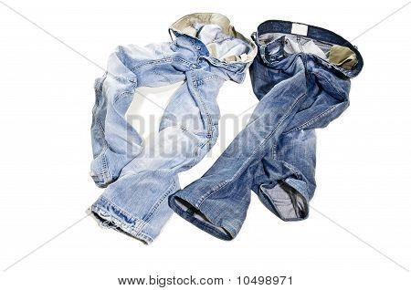 Paar Jeans