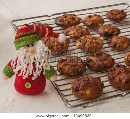 Traditional Ukrainian National Lean Baking For The Holiday Of St. Nicholas