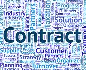 Contract Word Meaning Bond Compact And Contracts poster