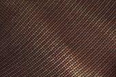 A macro shot of black nylon tights (pantyhose) texture poster