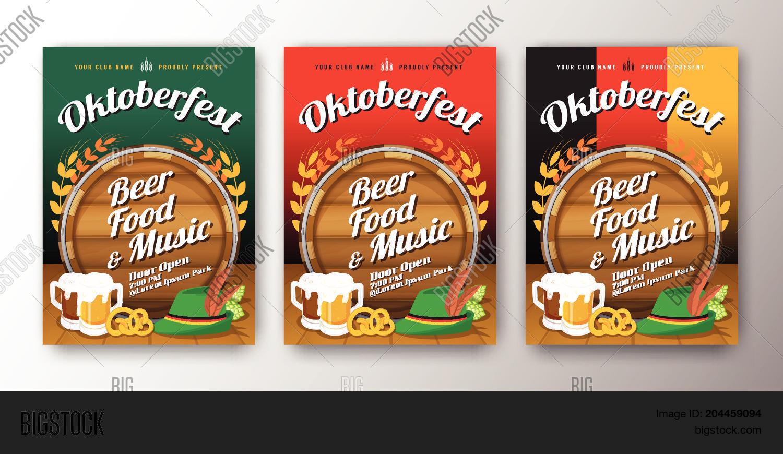 Oktoberfest Beer Vector Photo Free Trial