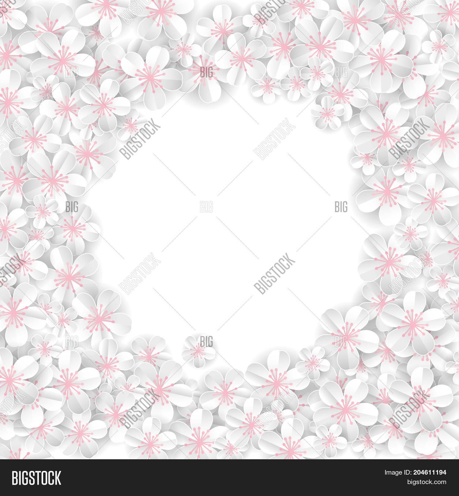 White Flowers Banner Image Photo Free Trial Bigstock