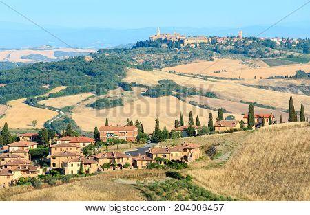 Tuscany Countryside, Montepulciano, Italy